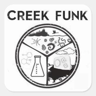 Creek Funk Sticker