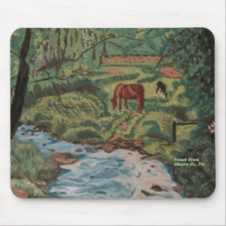 Creek Landscape mousepad