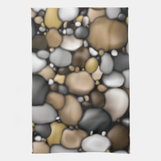 Creek Rocks Texture Kitchen Towel