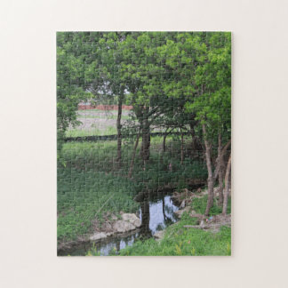 Creek Side Jigsaw Puzzle