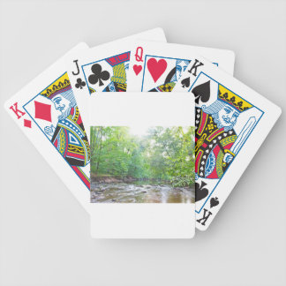 Creek - Summer Bicycle Playing Cards