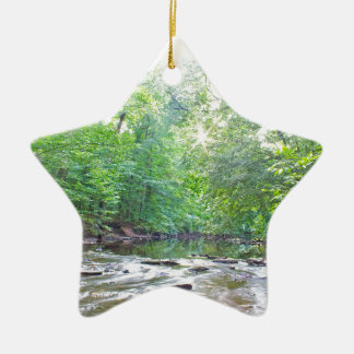 Creek - Summer Ceramic Ornament