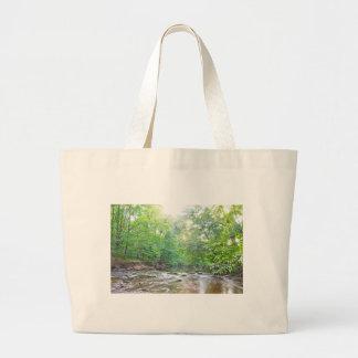 Creek - Summer Large Tote Bag