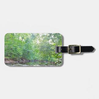 Creek - Summer Luggage Tag