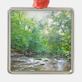 Creek - Summer Metal Ornament