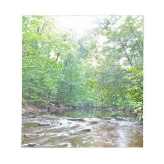 Creek - Summer Notepad