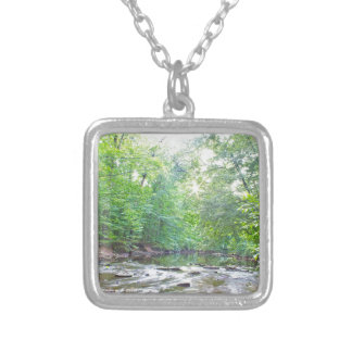 Creek - Summer Silver Plated Necklace