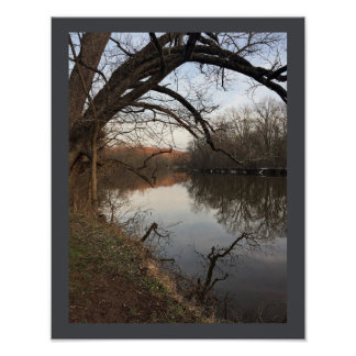 Creek Waterscape Poster