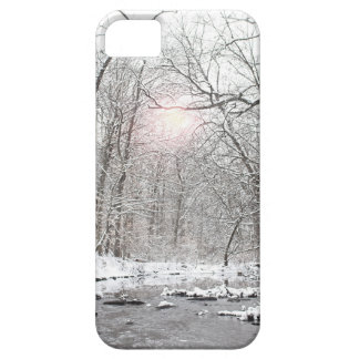 Creek - Winter iPhone 5 Cover