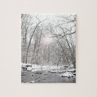 Creek - Winter Jigsaw Puzzle