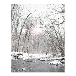 Creek - Winter Letterhead