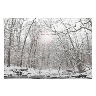 Creek - Winter Placemat