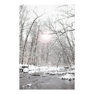 Creek - Winter Stationery