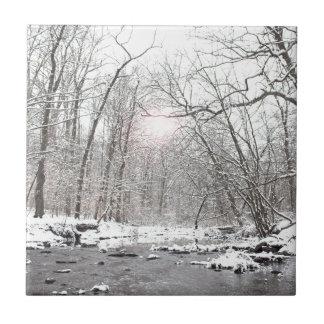 Creek - Winter Tile