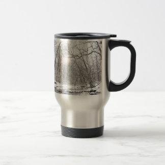 Creek - Winter Travel Mug