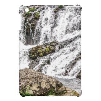 creeks pours over rocks iPad mini cover