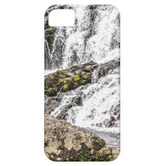 creeks pours over rocks iPhone 5 case