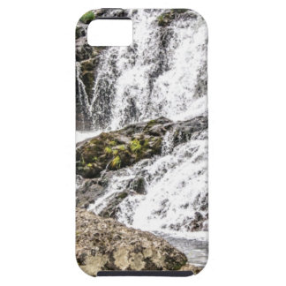 creeks pours over rocks iPhone 5 cover