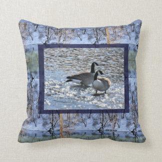 Creekside Duck2 Throw Pillow