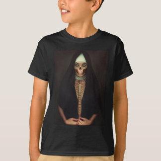 Creep Horror Nun Lady Skull Skeleton T-shirt