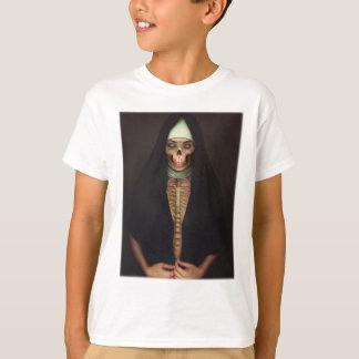 Creep Horror Nun Lady Skull Skeleton Tee Shirts