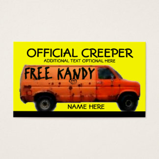 Creeper Business Card