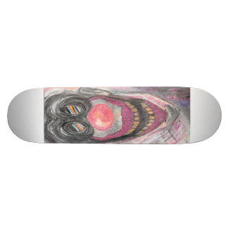 """Creeper"" Creepy Clown art by Colleen Wallen Skate Decks"