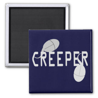 Creeper Square Magnet