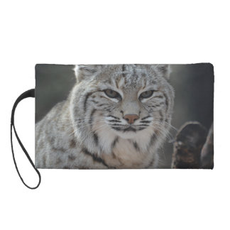 Creeping Bobcat Wristlet Purse