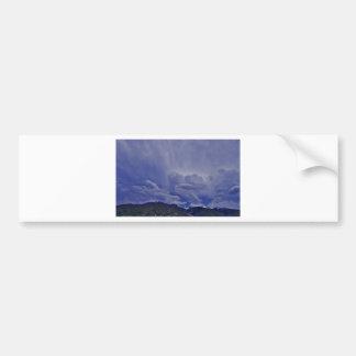 Creeping Clouds 1 Bumper Sticker
