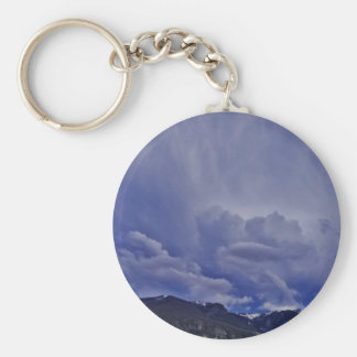 Creeping Clouds 1 Keychain