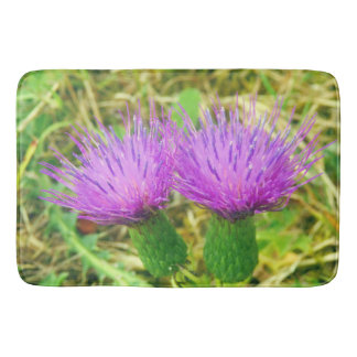 Creeping or Field Thistle Bath Mat