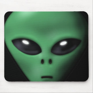 Creepy Alien Mouse Pad