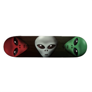 Creepy Alien Skate Board Deck