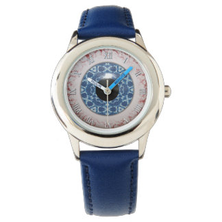 Creepy Blue Eyeball Halloween Fun Wristwatch