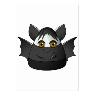 Creepy Candy Corn Bat Business Card Template