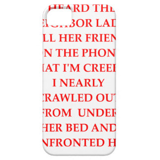 CREEPY CASE FOR THE iPhone 5
