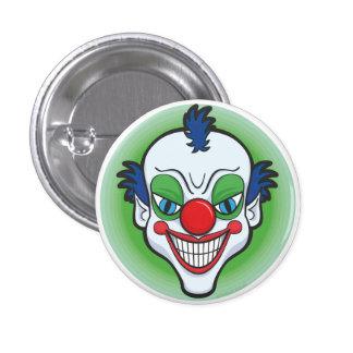 Creepy Clown Badge 1 Inch Round Button