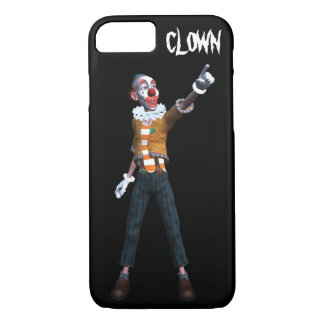 Creepy Clown Pointing iPhone 7 Case