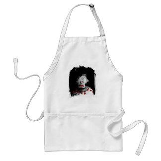 Creepy clown standard apron