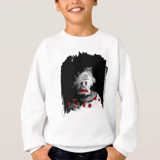 Creepy clown sweatshirt