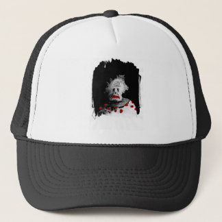 Creepy clown trucker hat