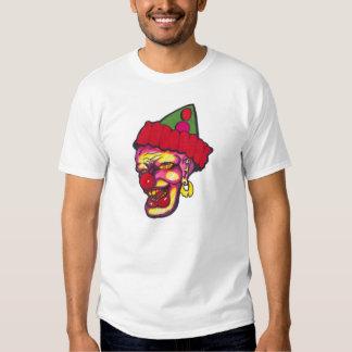 creepy clowns t-shirt