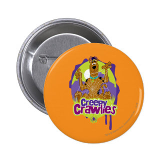 Creepy Crawlies 2 Inch Round Button