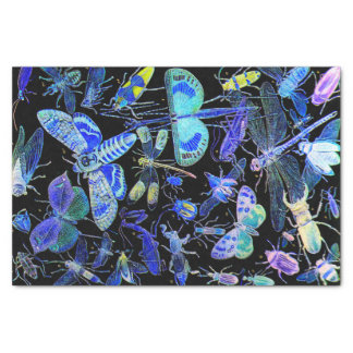 Creepy Crawlies Insect Tissue Paper | Goth Black
