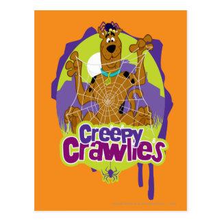 Creepy Crawlies Postcard