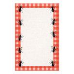 Creepy Crawly Ants Plaid Tablecloth