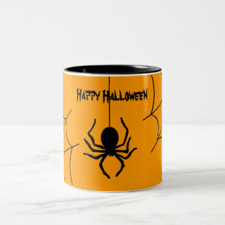 Creepy Creepy Spider Halloween Coffee Mug
