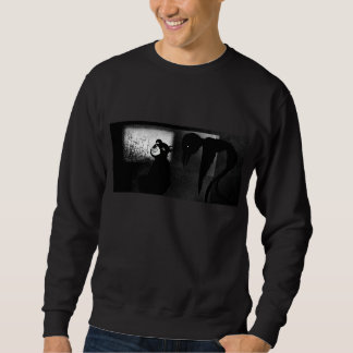 creepy crow sweatshirt