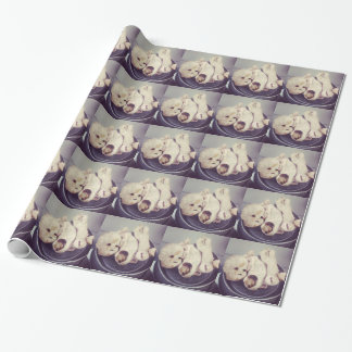 Creepy doll Parts Wrapping Paper